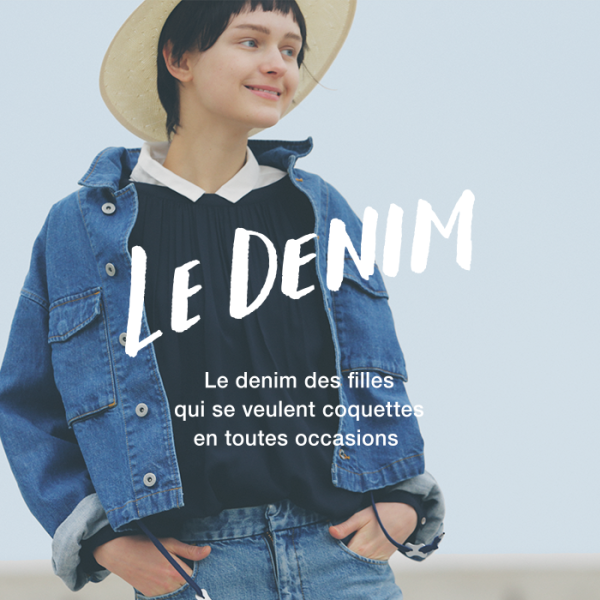 SLOBE IÉNA 2016ss Collection LE DENIM